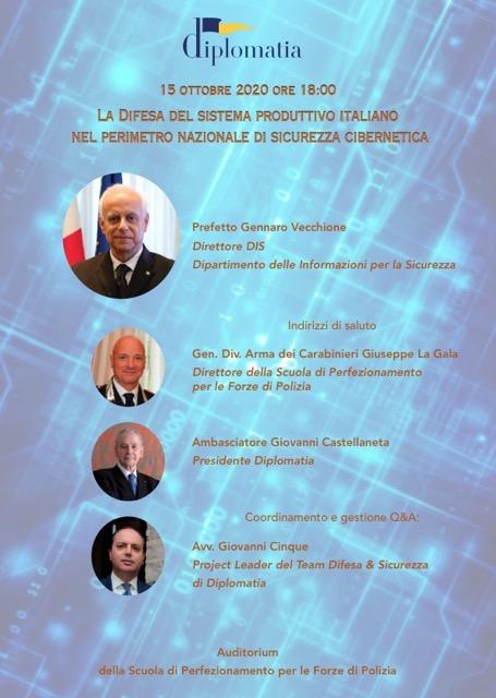 La difesa del sistema produttivo italiano nel perimetro nazionale di sicurezza cibernetica