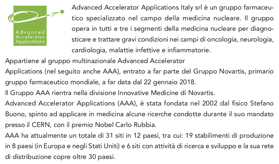 Advanced Accelerator Applications Italy