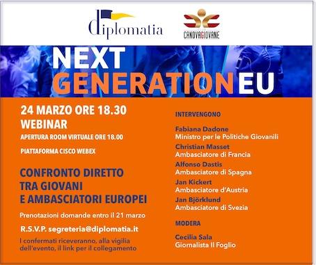 Confronto diretto tra giovani e Ambasciatori Europei