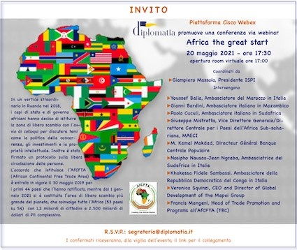 Africa the great start