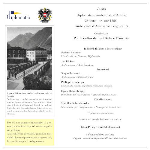 Ponte culturale tra l'Italia e l'Austria